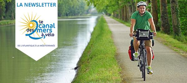Newsletter Canal des 2 Mers à Vélo